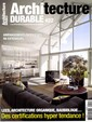 Architecture durable N° 22 Juillet 2015