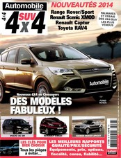 Automobile Revue SUV 4x4 N° 38 Avril 2013