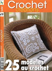 Magazine de crochet d'art