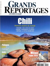 Grands Reportages N° 405 Avril 2015