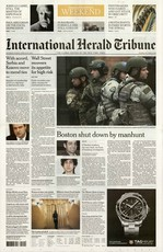 International Herald Tribune N° 420 Avril 2013