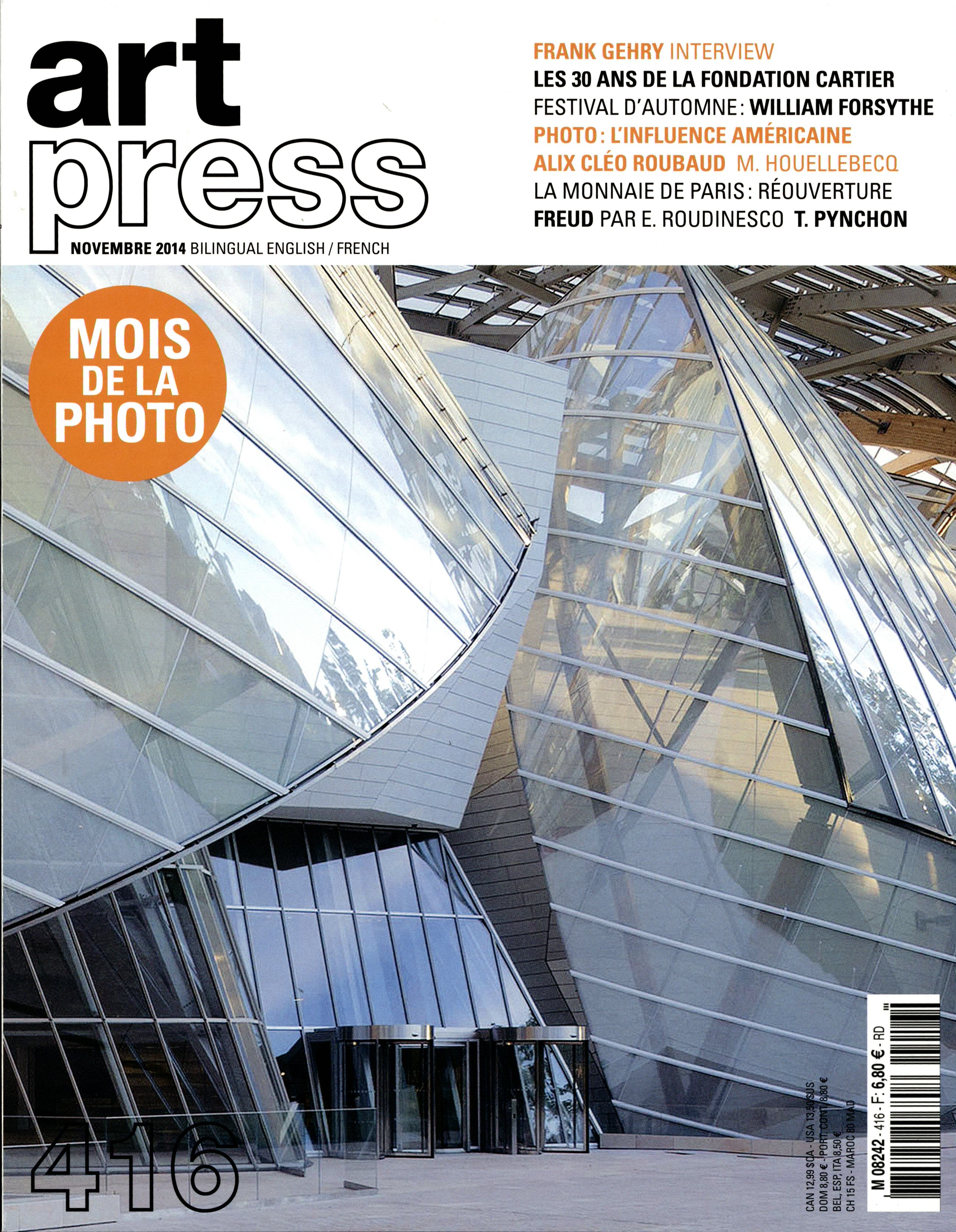Art Press N° 416 Octobre 2014