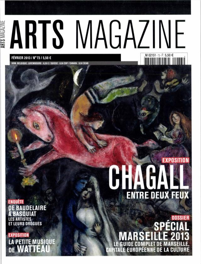Arts magazine N° 76 Avril 2013