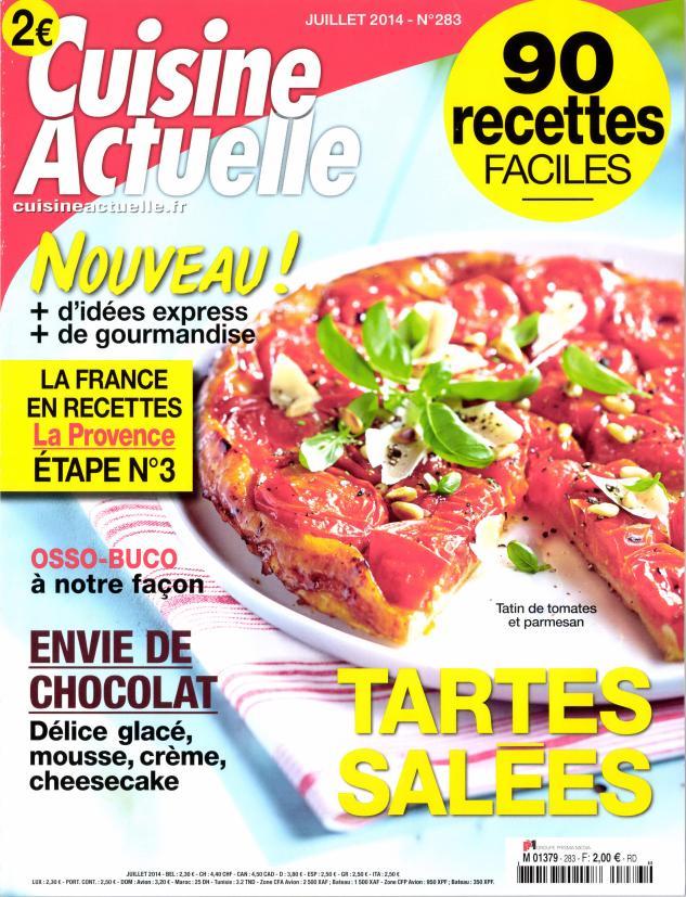 Abonnement cuisine actuelle cuisine actuelle n 324 - Cuisine actuelle abonnement ...