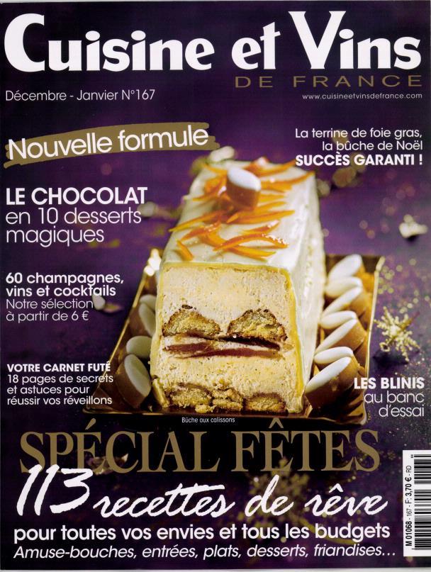 Cuisine et vins de france n 167 abonnement cuisine et for Abonnement cuisine et vins de france