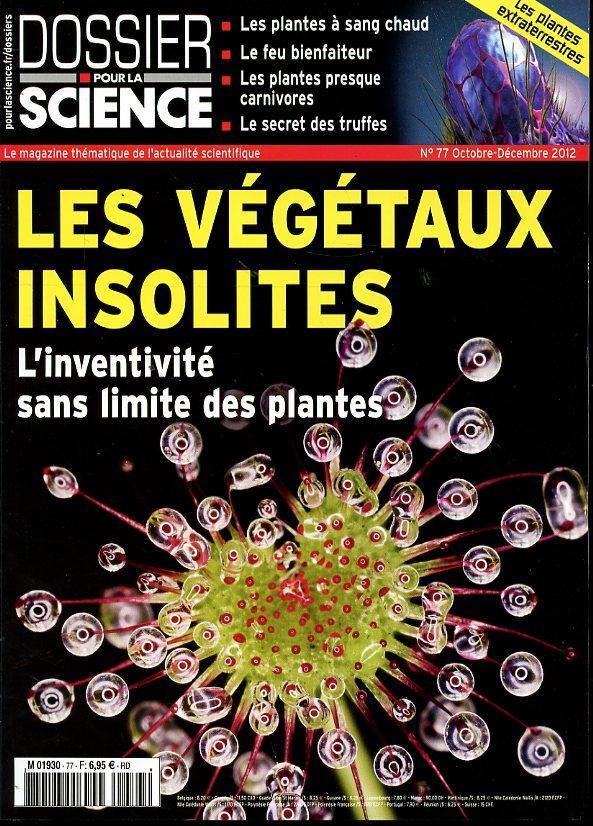 Revues Dossier-pour-la-science_n-77_juillet-2012