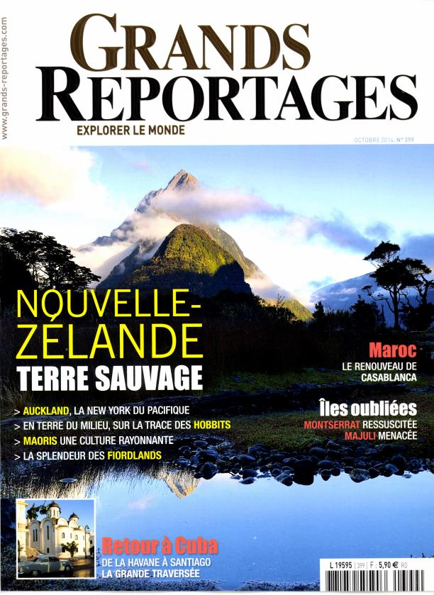 Grands Reportages N° 399 Septembre 2014
