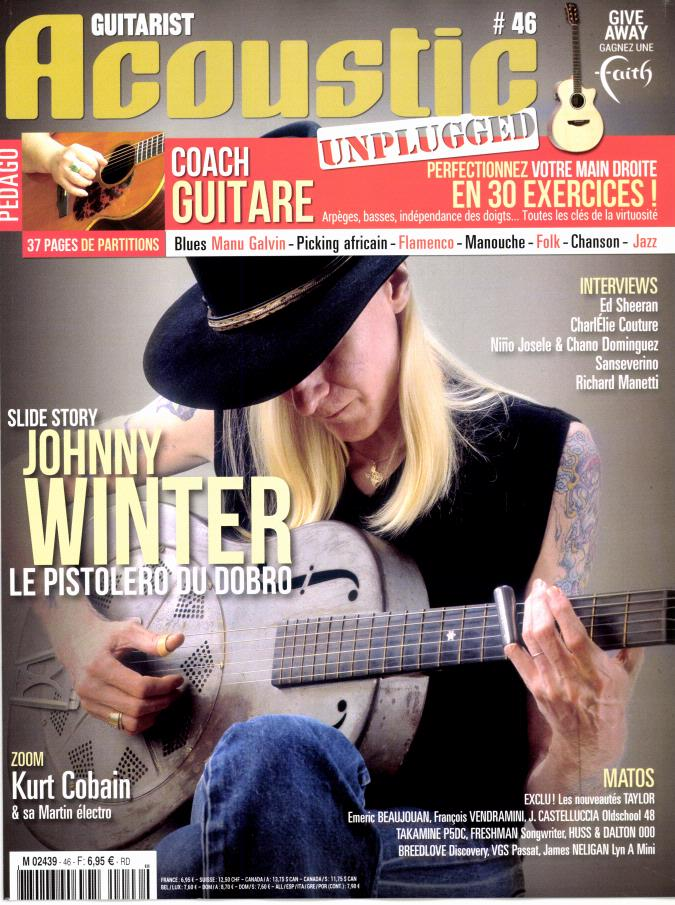 Guitarist Acoustic N° 46 Octobre 2014