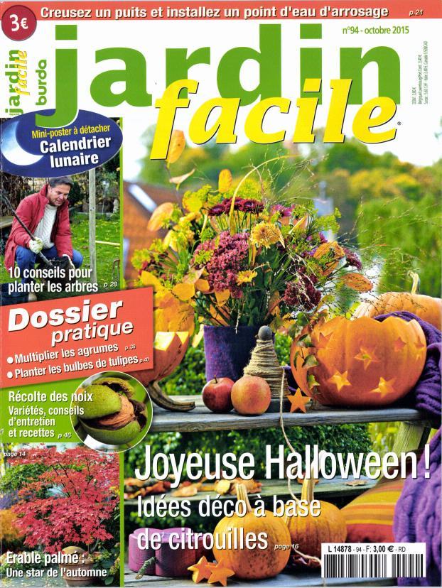 Abonnement jardin facile abonnement magazine par for Halloween 2015 jardin franco allemand sarrebruck