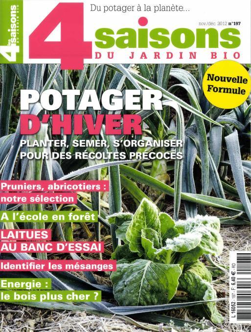 magazine jardinage bio