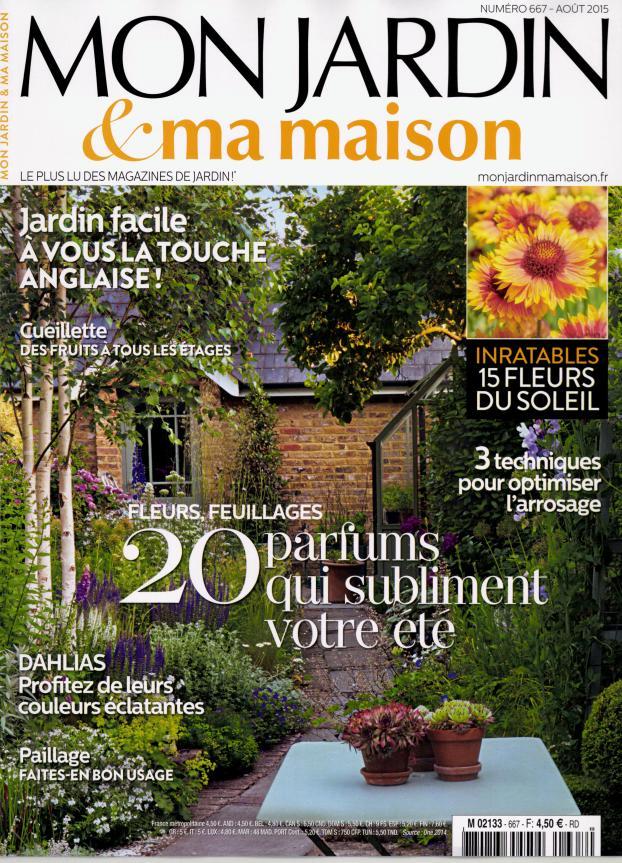 Mon jardin et ma maison n 668 ao t 2015 - Mon jardin ma maison abonnement ...