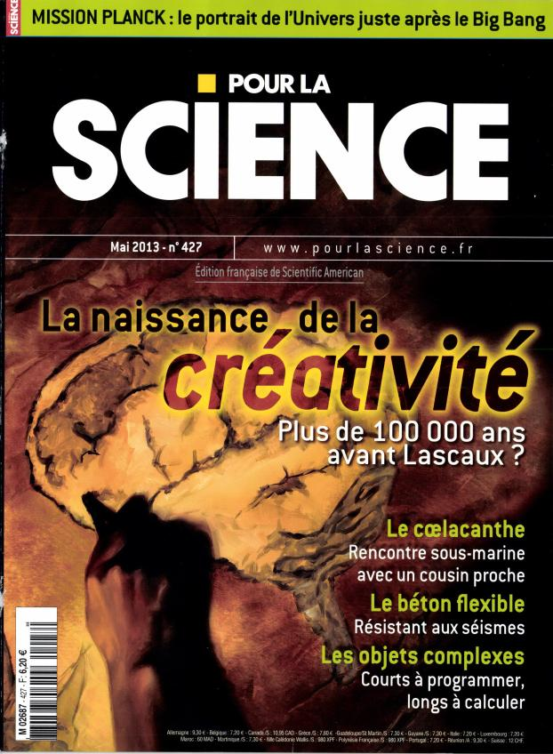 Pour la Science N° 427 Avril 2013