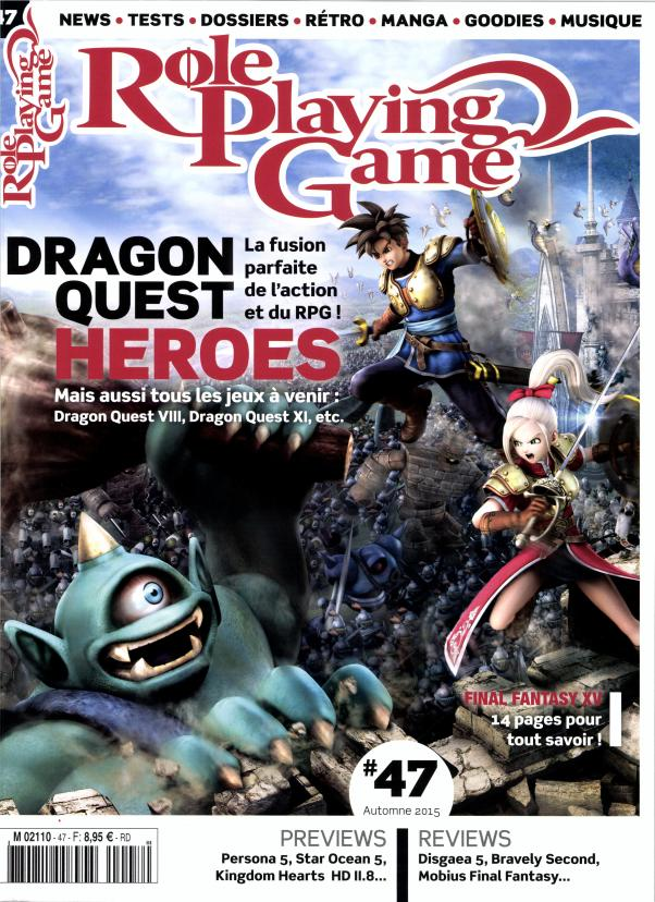 Role Playing Game N° 47 Octobre 2015
